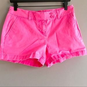 Vineyard Vines pink overdyed neon washed shorts 4